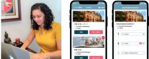 世界70ヶ国以上・累計10万人が利用するチャット英会話アプリ「Eigooo!」が選べるレッスン機能を追加
